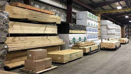 Mills Supply Company, Louisville, KY, in stock lumber
